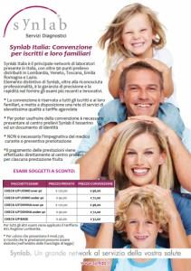 convenzione Synlab Associazione AGE Roncadelle